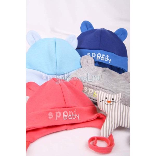 теплые головные уборы для новорожденного