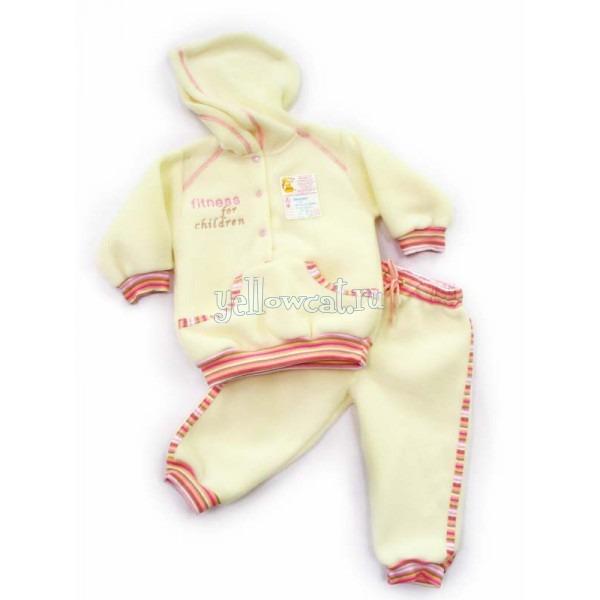 теплый детский комплект одежды на осень
