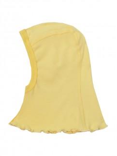 Шапочка-шлем 527р жёлтый