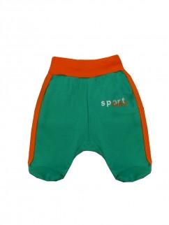 Ползунки 1306и спорт зелёный