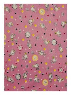 605к Пелёнка розовая