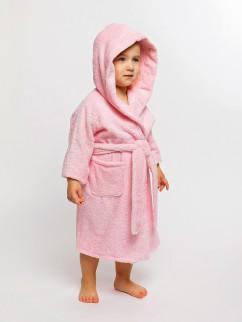 Халат банный для малышей 613м розовый